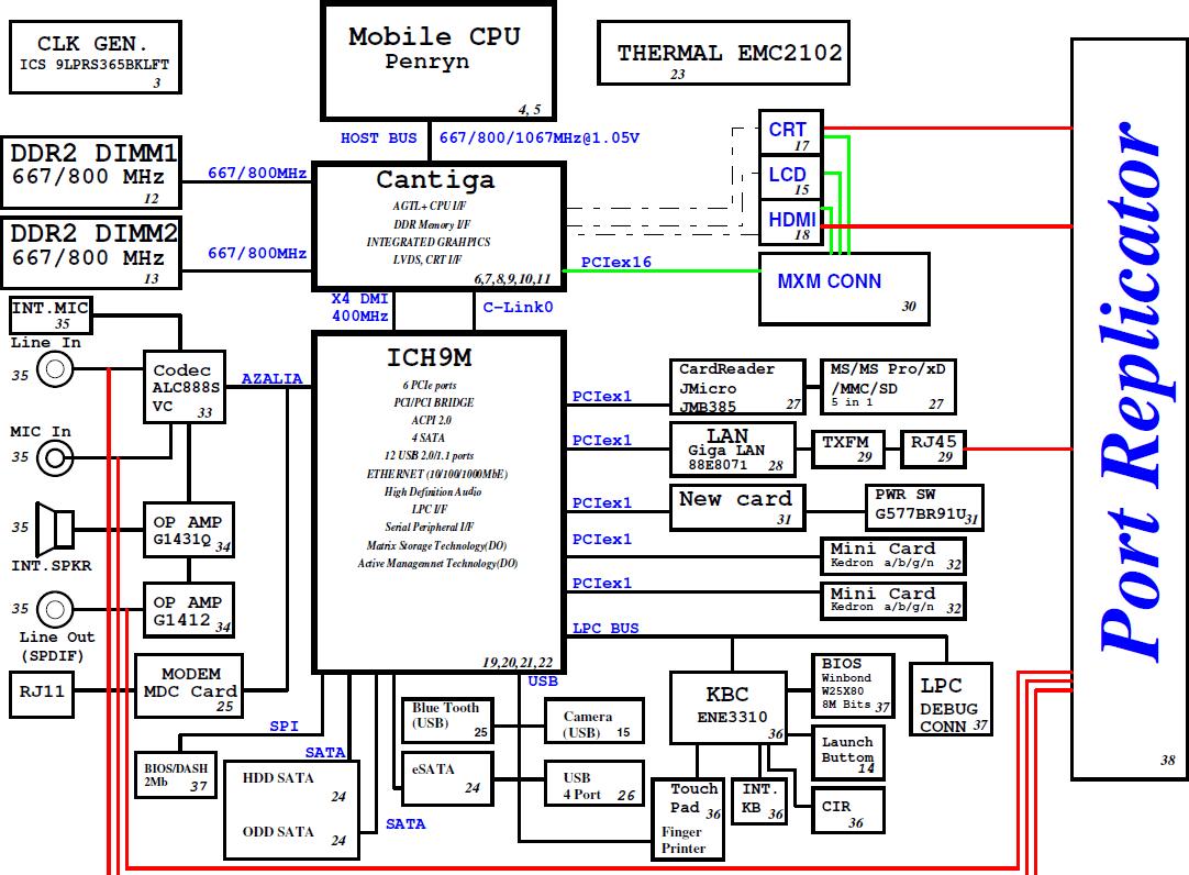 Acer aspire one d270 схема