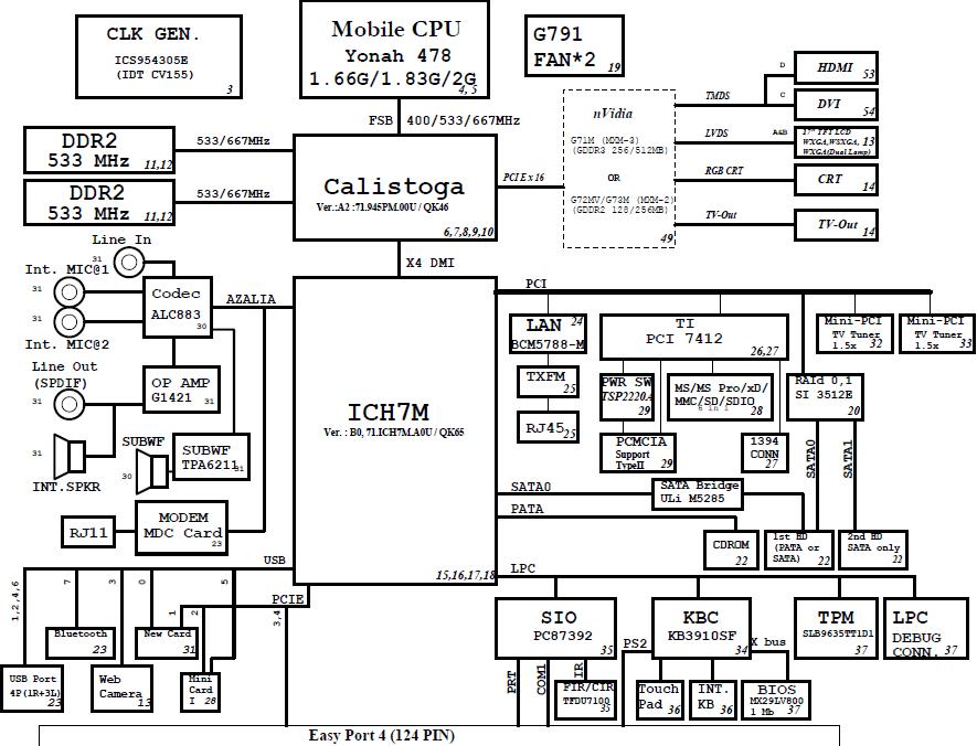 宏基adev主板电路图