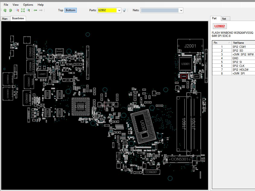 Asus X750L BIOS Chip programmiert programmed X750LN 2.0